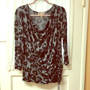 Michael Kors animal print top